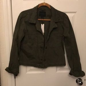 Anthropologie utility jacket